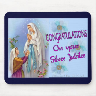Nuns Silver Jubilee Gifts and Cards Mouse Pad