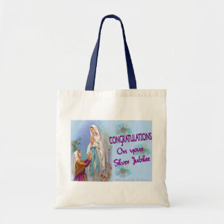 Nuns Silver Jubilee Gifts and Cards Tote Bag