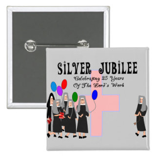 Nuns Silver Jubilee Gifts Pins