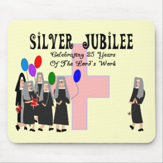 Nuns Silver Jubilee Gifts Mouse Pads