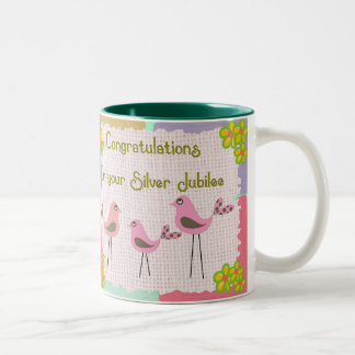 Nuns Silver Jubilee Gifts Mugs