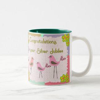 Nuns Silver Jubilee Gifts Two-Tone Coffee Mug