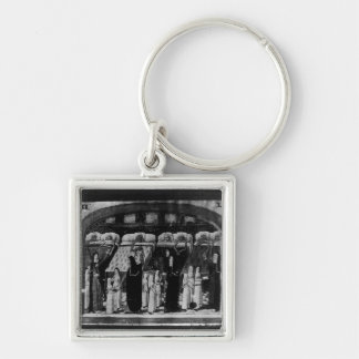 Nuns tending the sick at the Hotel Dieu Keychain