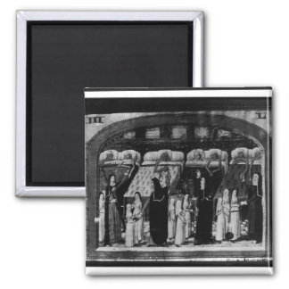 Nuns tending the sick at the Hotel Dieu Magnet