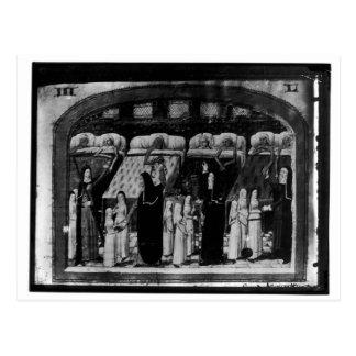 Nuns tending the sick at the Hotel Dieu Postcard