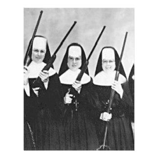 "Nuns With Guns 8.5"" X 11"" Flyer"