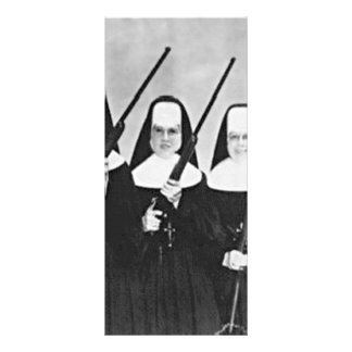 Nuns With Guns Rack Card