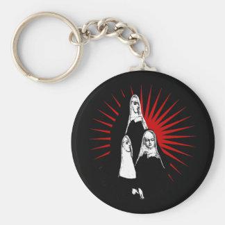 Nuns with Starburst Keychain