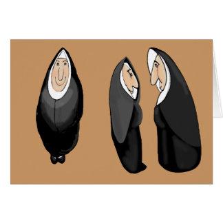 nunsense greeting card