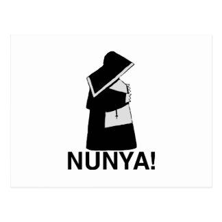 Nunya Postcard