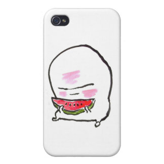 nuppera kun eats watermelon iPhone 4/4S case