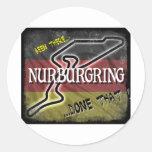 Nurburgring - estado That.jpg allí hecho Pegatinas Redondas