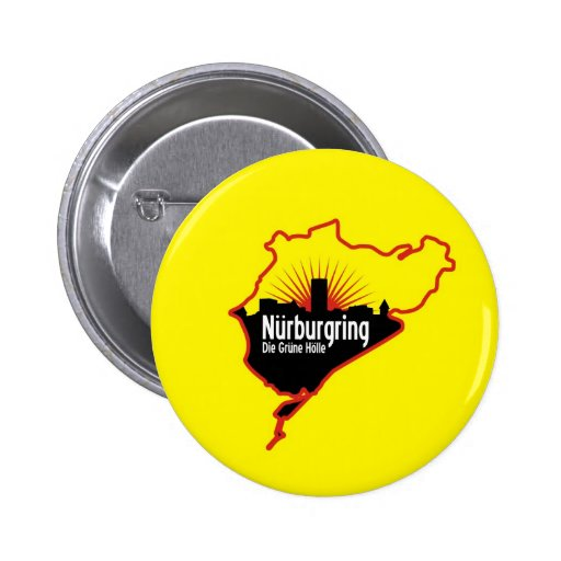 Nurburgring Nordschleife race track, Germany Buttons