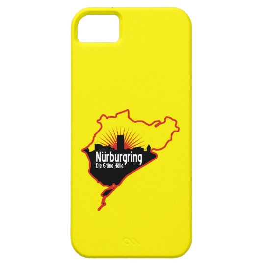 Nurburgring Nordschleife race track, Germany iPhone SE/5/5s Case
