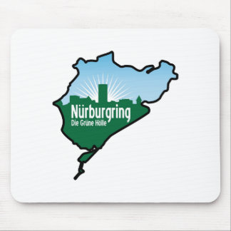 Nurburgring Nordschleife race track, Germany Mouse Pad