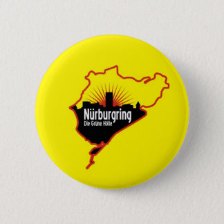 Nurburgring Nordschleife race track, Germany Pinback Button