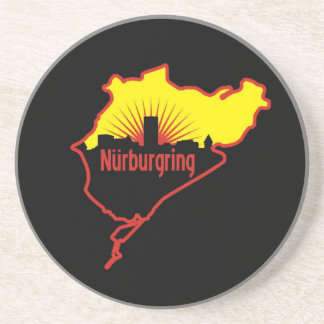 Nurburgring Nordschleife race track, Germany Sandstone Coaster