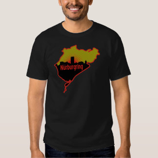 Nurburgring Nordschleife race track, Germany T Shirt