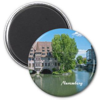 Nuremberg 2 Inch Round Magnet