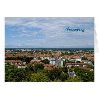 Nuremberg Greeting Card