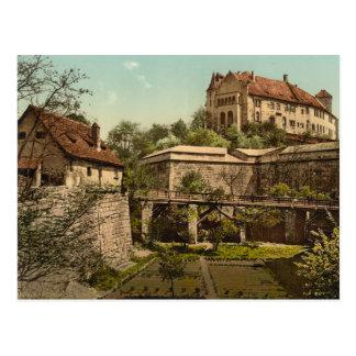 Nuremberg Castle, Bavaria, Germany Postcard