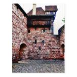 Nuremberg castle post cards