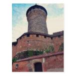 Nuremberg castle postcards