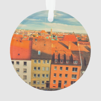 Nuremberg colorful buildings ornament