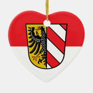 Nuremberg Flag Ceramic Ornament