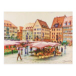 Nuremberg Market in Germany by Shawna Mac Postcard