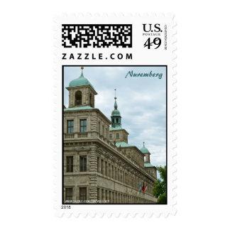 Nuremberg Postage Stamp