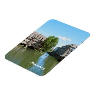 Nuremberg Rectangular Photo Magnet