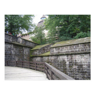 Nurenberg Wall Postcard