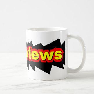 NUReviews Logo (No Subtitle) Classic White Coffee Mug