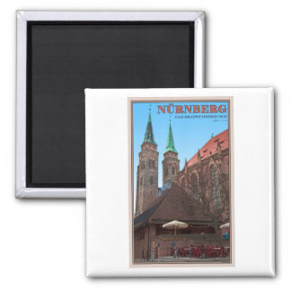 Nürnberg - Bratwursthäusle Imán De Frigorifico
