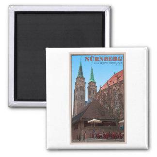 Nürnberg - Bratwursthäusle Magnet