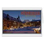 Nürnberg Christkindlesmarkt at Night Cards