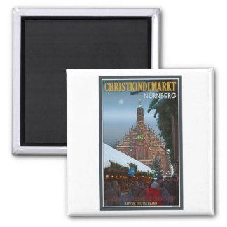 Nürnberg Frauenkirche & Christkindlmarkt Magnet