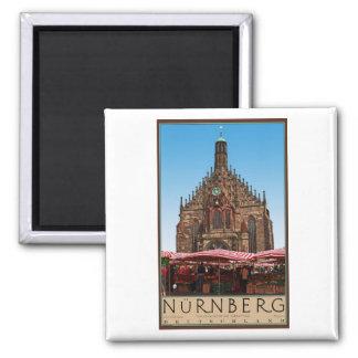 Nürnberg - Frauenkirche Magnet