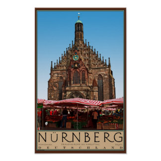 Nürnberg - Frauenkirche Poster