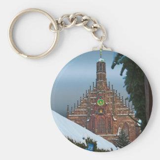 Nürnberg Frauenkirche y Christkindlmarkt Llaveros