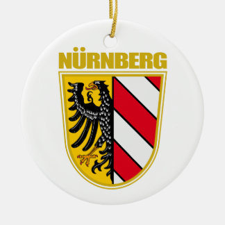 Nurnberg (Nuremberg) Ceramic Ornament
