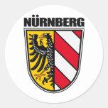 Nurnberg (Nuremberg) Classic Round Sticker