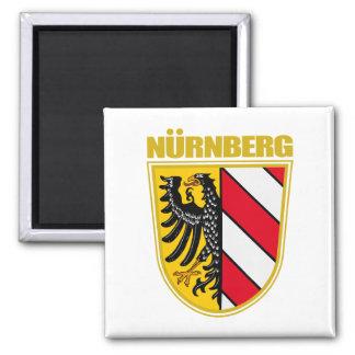 Nurnberg (Nuremberg) 2 Inch Square Magnet