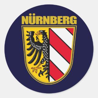 Nurnberg (Nuremberg) Round Stickers