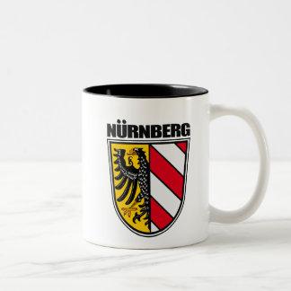 Nurnberg (Nuremberg) Two-Tone Coffee Mug