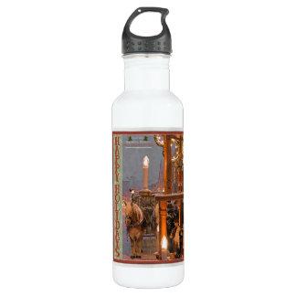 Nurnberg - Snowy Night HH.jpg Water Bottle