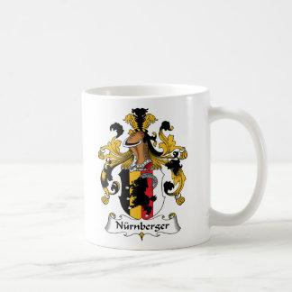 Nurnberger Family Crest Coffee Mug