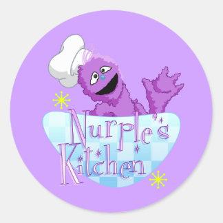 Nurple's Kitchen Stickers (purple)