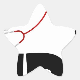 nurse5 star sticker